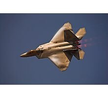 F-22 Raptor Photographic Print