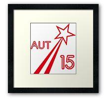 AUSTRIA STAR 2015 Framed Print