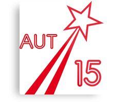 AUSTRIA STAR 2015 Metal Print