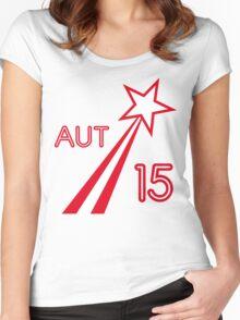 AUSTRIA STAR 2015 Women's Fitted Scoop T-Shirt