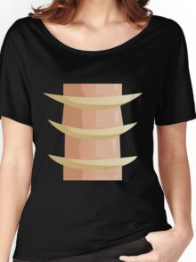 Glitch Ix Land  bone ladder spine 01 Women's Relaxed Fit T-Shirt