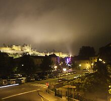 Carcassonne at Night - The Medieval City by Simon Mears
