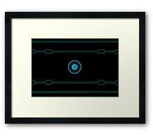 Tron Lines Framed Print