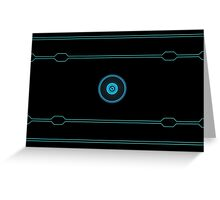 Tron Lines Greeting Card