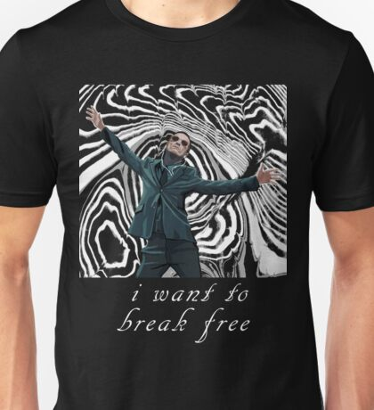 MORIARTY BREAK FREE - DARK CLOTHING Unisex T-Shirt