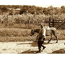 MILK MAN 2 Photographic Print