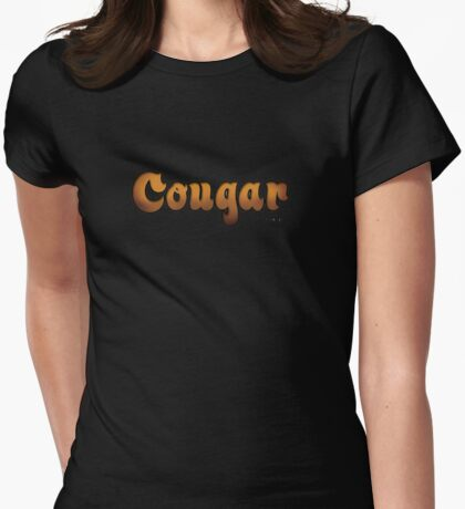 Cougar Womens Fitted T-Shirt