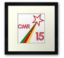 CAMEROON STAR 2015 Framed Print