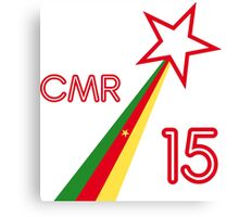 CAMEROON STAR 2015 Canvas Print
