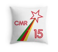 CAMEROON STAR 2015 Throw Pillow