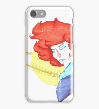 astronaut girl is back iPhone Case/Skin