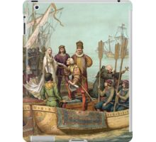 First Voyage of Christopher Columbus iPad Case/Skin