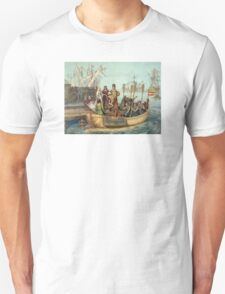 First Voyage of Christopher Columbus Unisex T-Shirt