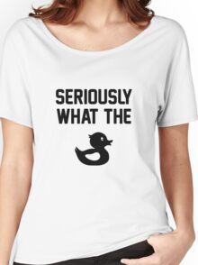 What the Duck Women's Relaxed Fit T-Shirt