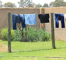 Washday and no electricity by Maree  Clarkson
