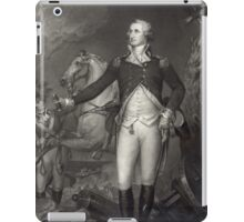 George Washington on the Battlefield iPad Case/Skin