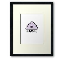 All Hail The Glow Cloud Framed Print