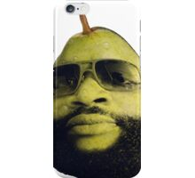 Rick Ross the pear iPhone Case/Skin