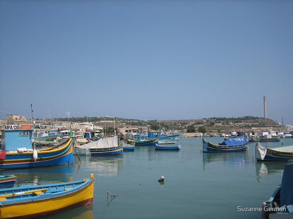 Maltese Luzzu by Suzanne German