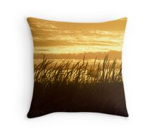 The dog days of summer Throw Pillow
