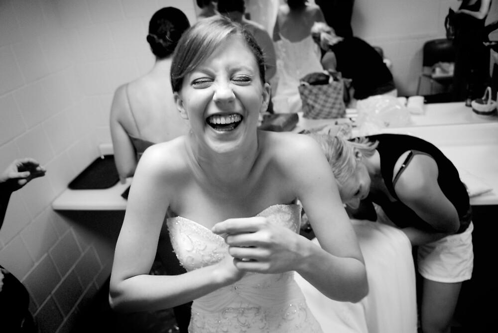 happy bride by missmunchy