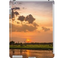 Yellow Water Sunset, Kakadu iPad Case/Skin
