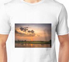 Yellow Water Sunset, Kakadu Unisex T-Shirt