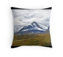 Autumn at Kebnekaise Throw Pillow