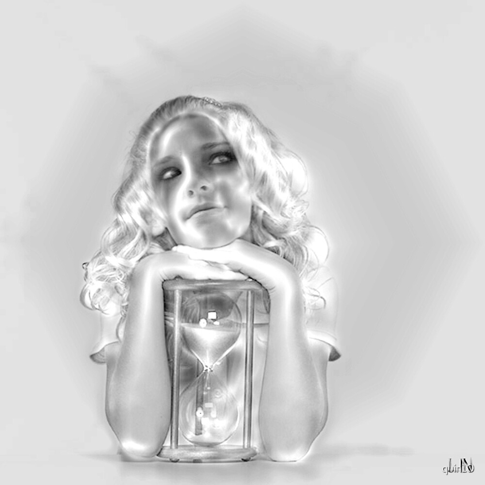 Girl With Hourglass by quin10