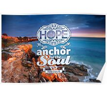Hope - anchor the soul Poster