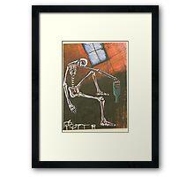 Drunk with despair Framed Print