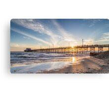 Newport Beach Pier 1 Canvas Print