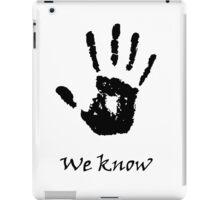 The Black Hand iPad Case/Skin