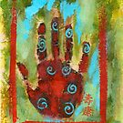 Abstract Chakra Hand by Antaratma Images