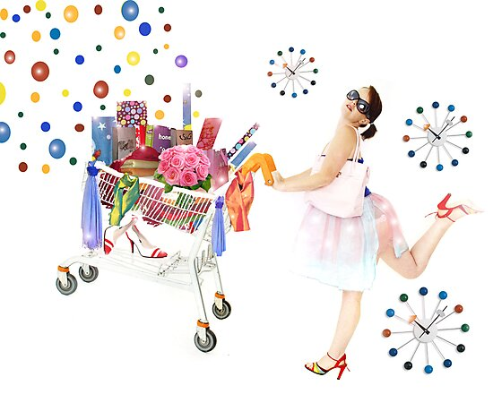 always time to shop!! by Ruby Coupe