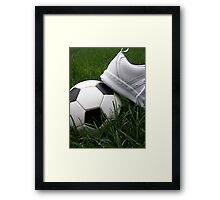 Soccer Season Framed Print
