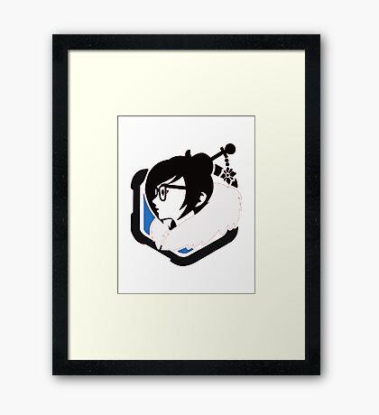 Overwatch : Little ana Framed Print