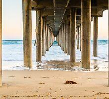 Newport Beach Pier 4 by Nadim Baki