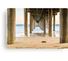 Newport Beach Pier 4 Canvas Print
