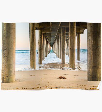 Newport Beach Pier 4 Poster
