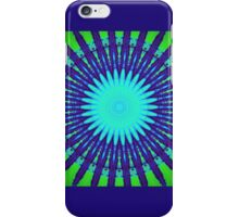 Starburst Green iPhone Case/Skin