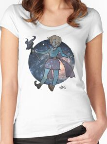 """""""Fae"""" Witch Women's Fitted Scoop T-Shirt"""