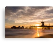 Newport Beach Pier 5 Canvas Print
