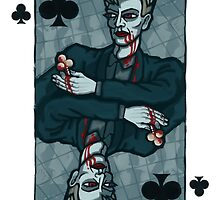 Vampire Jack of Clubs by pixbyr