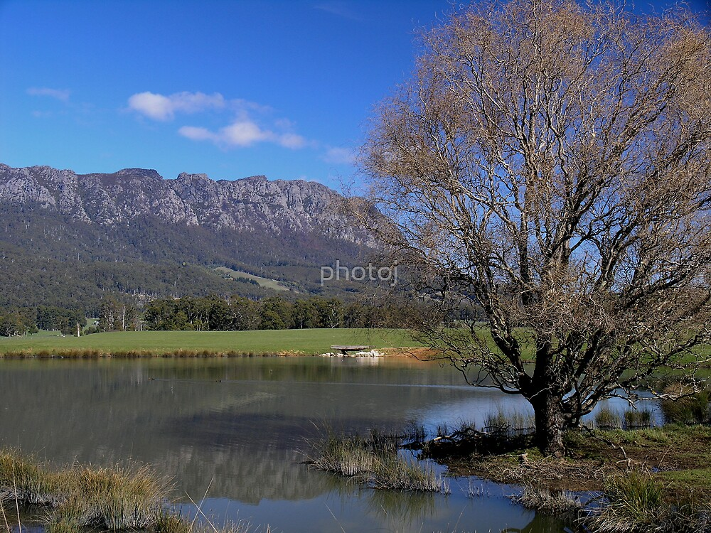 Australia - Tasmania, Mt Roland by photoj