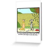 Dirty Socks Greeting Card