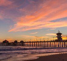Newport Beach Pier 6 by Nadim Baki