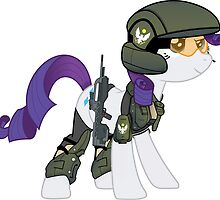 UNSC marine Rarity by Blocks54