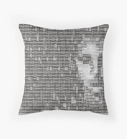 V for VENDETTA Throw Pillow