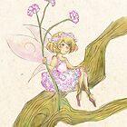Baby's Breath Flower Fairy by TheSealandian